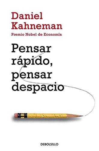 "Libro ""Pensar Rápido, Pensar Despacio"" de Daniel Kahneman"