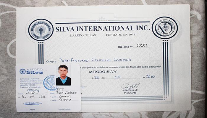 certificado oficial metodosilva