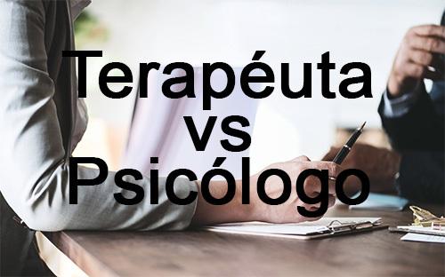 diferencia entre un terapeuta y un psicÓlogo
